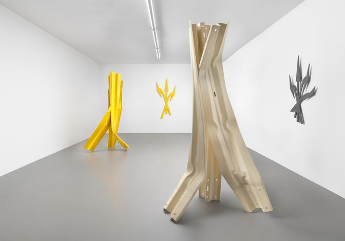 Exhibition view: Bettina Pousttchi, Vertical Highways, Buchmann Box (9 September–31 October 2020). Courtesy Buchmann Galerie. Photo: Jens Ziehe