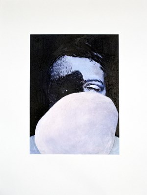 I Can't Stand Cotton Balls II by Claire Lee contemporary artwork