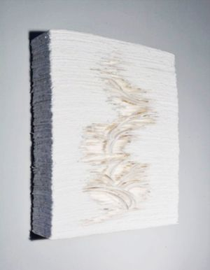 Paperwall by Angela Glajcar contemporary artwork