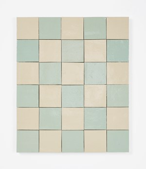 The traveler seeking the road waved his hand from afar, but fearing to disturb the fish I did not tell him of the  crossing by Mai-Thu Perret contemporary artwork