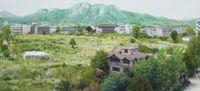 Study of Green-Seoul-Vacant Lot-Songhyeon-dong 1 by Honggoo Kang contemporary artwork painting