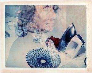Double exposure, Mary Nolan by Sidney Nolan contemporary artwork