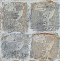 Tea Bowls by Hoon Kwak contemporary artwork painting