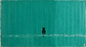 貓頭鷹 Owl by Yeh Shih-Chiang contemporary artwork