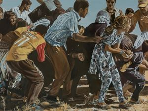 Mount Sinjar 1 by Lyndell Brown & Charles Green contemporary artwork