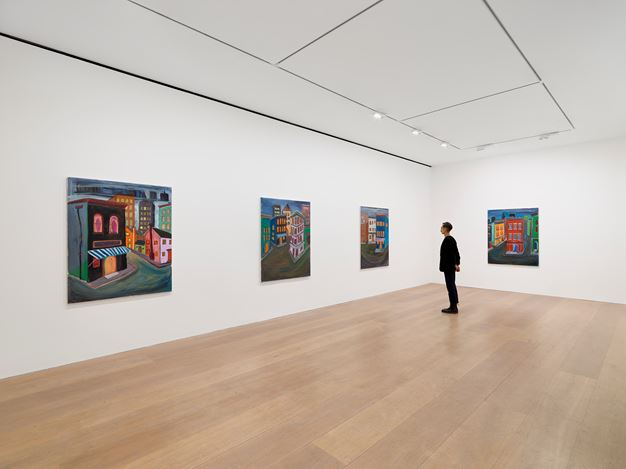 Exhibition view: Josh Smith,Spectre, David Zwirner, London (15 September–31 October 2020). Courtesy David Zwirner.