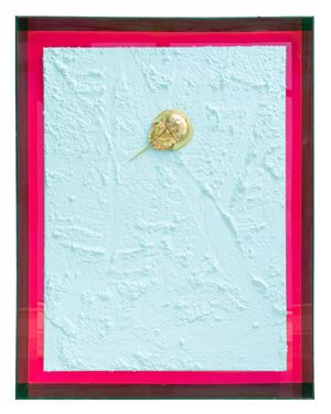 Golden Horseshoe Crab 2 by John Knuth contemporary artwork