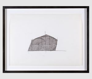 Untitled (Accumulative Reduction) by Gordon Matta-Clark contemporary artwork works on paper, drawing