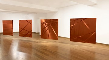 Contemporary art exhibition, Alice Anderson, Body Disruptions at Waddington Custot, London