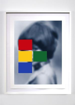 Blue Notes by Carrie Mae Weems contemporary artwork
