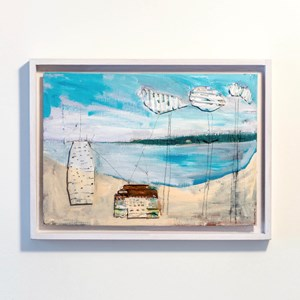 Architectural Things Beachscape 2 by Paul Connor contemporary artwork