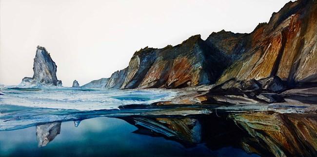 Oceans Edge by Neil Frazer contemporary artwork