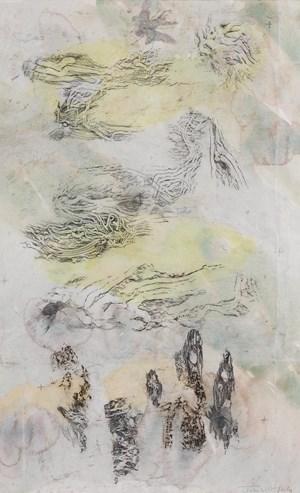 Beetle inscape - Kamarooka Forest by John Wolseley contemporary artwork