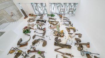 Contemporary art exhibition, Michael Dean, Garden of Delete at Barakat Contemporary, Seoul, South Korea