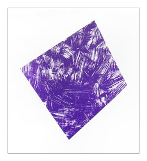 Untitled (Purple State I) by Ellsworth Kelly contemporary artwork