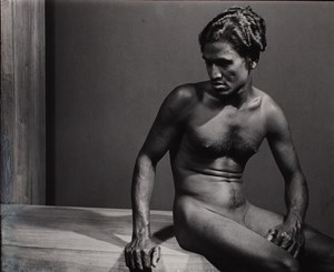 Untitled (Nude Raman) by Lionel Wendt contemporary artwork