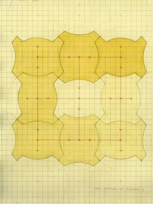 Nine Shades of Yellow 《9個深淺的黃色》 by Inga Svala Thórsdóttir & Wu Shanzhuan contemporary artwork painting, works on paper, drawing
