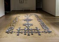 The Bride's Rug by NAQSH Collective contemporary artwork sculpture, installation