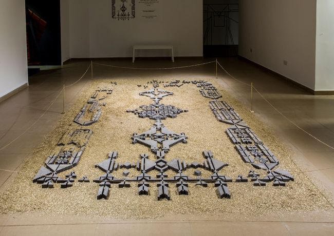 The Bride's Rug by NAQSH Collective contemporary artwork
