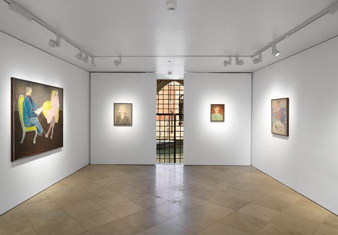 Exhibition view: Milton Avery, The Late Portraits, Victoria Miro, Venice (20 July–8 September 2019). Courtesy Victoria Miro.
