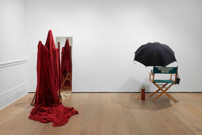 Exhibition view: Eleanor Antin, Sian Davey, On Hannah Arendt: The Crisis in Education, Richard Saltoun Gallery, London (10 August–18 September 2021). Courtesy Richard Saltoun Gallery.