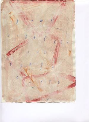 d'une espièglerie suffocante by Arpaïs Du Bois contemporary artwork