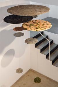 Circular Strata by Chung Soyoung contemporary artwork installation