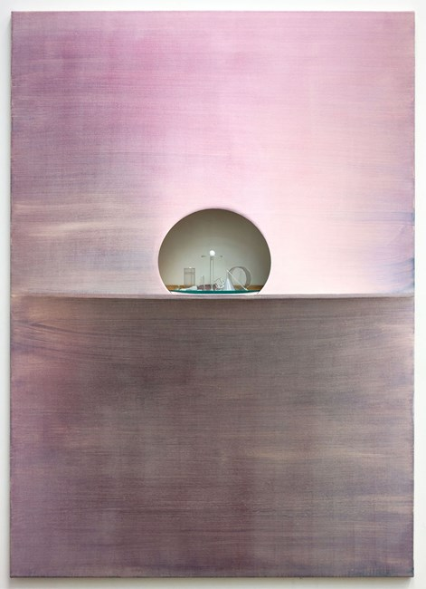 Silver Velvet Monolith by Emily Hartley-Skudder and Hamish Coleman contemporary artwork