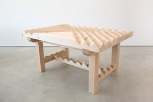 Working Table - Sliced Surface by Susumu Koshimizu contemporary artwork