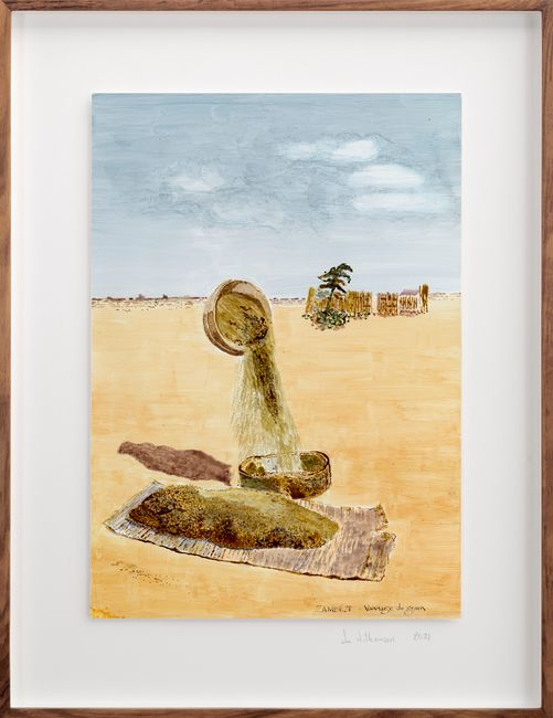 Postcards from Africa: Sifting the grain, Zambeze by Sue Williamson contemporary artwork