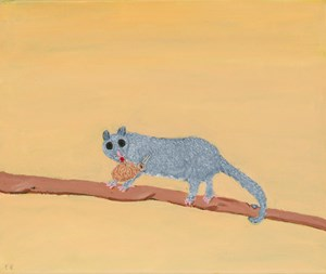 The Aussie Pest by Frank Nowlan contemporary artwork