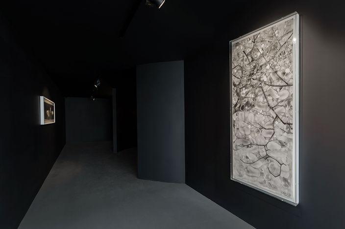 Exhibition view: Shen Qin & Chen Qi, Mountain House of Sliced Stones: Artworks of Shen Qin & Chen Qi, Asia Art Center, Beijing (24 April–20 June 2021). CourtesyAsia Art Center.