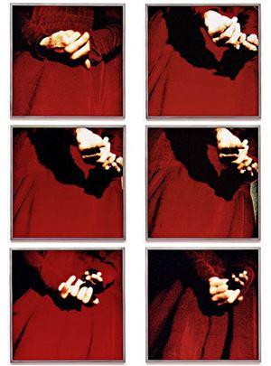 LIFE–DEATH I, 1-6 by Katharina Sieverding contemporary artwork