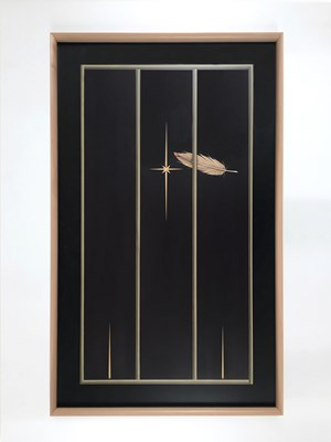 One Feather One Star by Camille Blatrix contemporary artwork