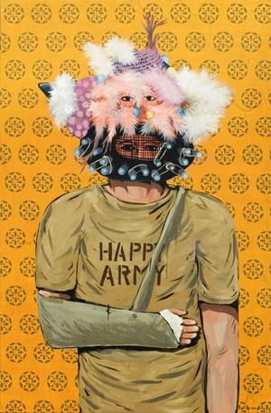 Happy Army by Eko Nugroho contemporary artwork
