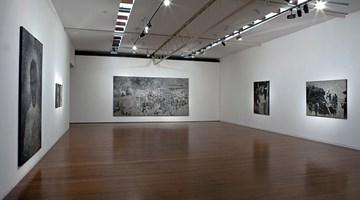 Contemporary art exhibition, Daniel Boyd, New Hebrides at Roslyn Oxley9 Gallery, Sydney