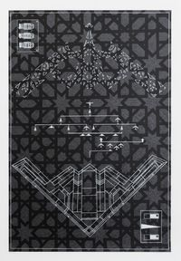 Foreshore defender by Brett Graham contemporary artwork print