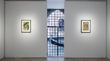 Contemporary art exhibition, Chris Ofili, Poolside Magic at Victoria Miro, Venice