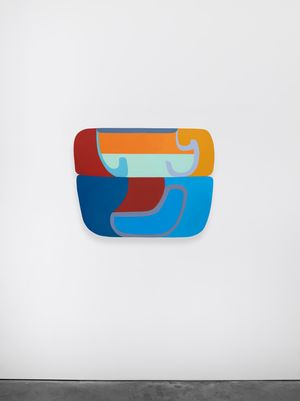 Untitled (Canones #5) by Joanna Pousette-Dart contemporary artwork