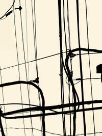 Looking up in OsakaEbisu Higashi 2 cho-me, Naniwa-ku (#2) by João Penalva contemporary artwork photography, print