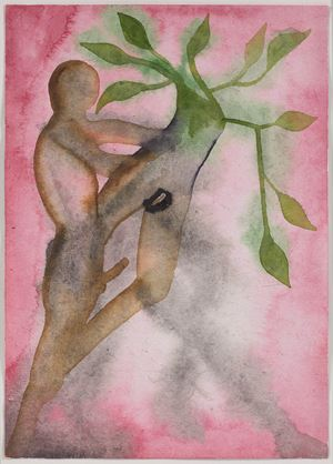 A Story Well Told XIII by Francesco Clemente contemporary artwork
