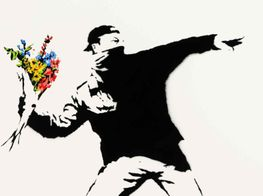Sotheby's Will Accept Crypto for Banksy's 'Love is in the Air'