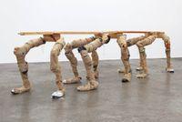 Zig-zag by Richard Reddaway contemporary artwork sculpture