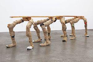 Zig-zag by Richard Reddaway contemporary artwork