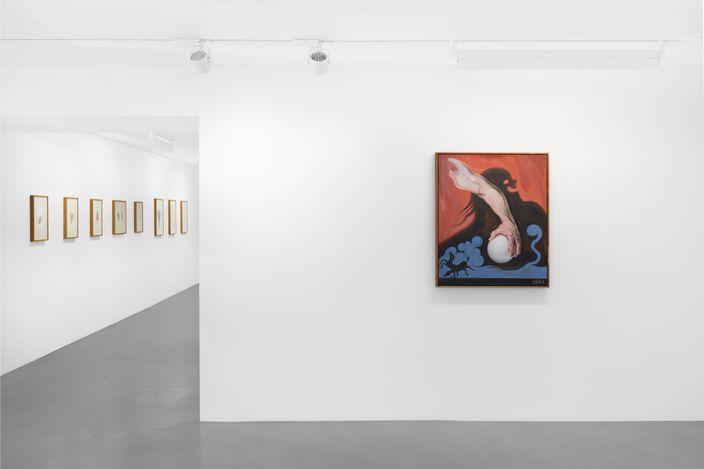 Exhibition view:Kati Heck, Bonnie Bonne Bon,Sadie Coles HQ, Davies Street, London (1 June–10 July 2021). CourtesySadie Coles HQ, London.