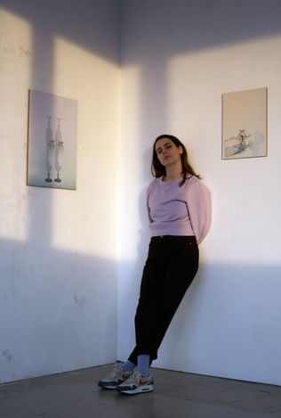 Exhibition view:Astrid Styma,Our Chemistry, SETAREH (27 May–10 June 2021). Courtesy SETAREH.