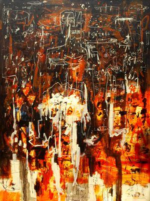 Raja Tega/Vile King by Gatot Pujiarto contemporary artwork