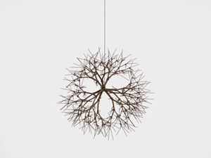 Untitled (S.371, Hanging, Tied-Wire, Closed-Center, Multi-Branched Form Based on Nature) by Ruth Asawa contemporary artwork