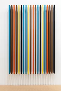 Transferred Projection by Liam Gillick contemporary artwork sculpture