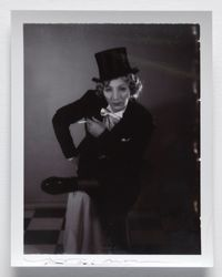 Mannish Marlene Dietrich by Yasumasa Morimura contemporary artwork photography